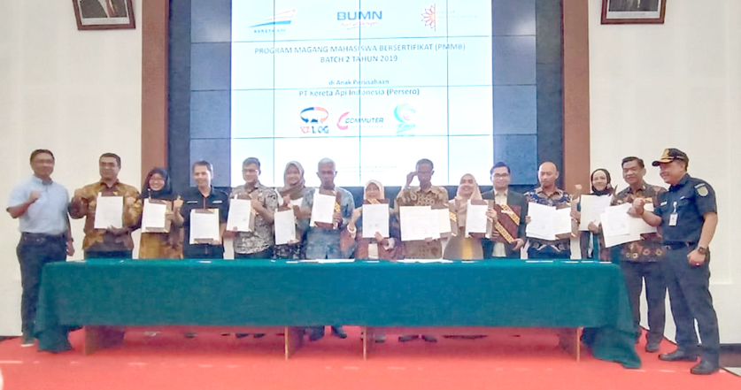 UIN Jakarta-PT KAI agree to cooperate in internship program