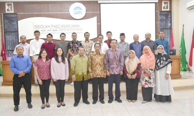 Lecturers from STT Baptis Kavalri continue their doctoral study at SPs UIN Jakarta
