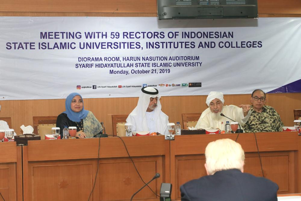 Ahli Fikih dari UEA Syekh Abdullah bin Bayyah Kunjungi UIN Jakarta