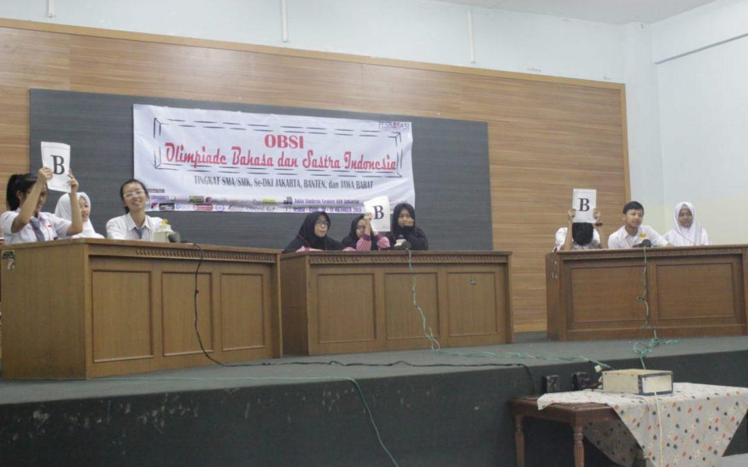 PBSI FITK UIN Jakarta will organize Indonesian laguange and literature Olympiad