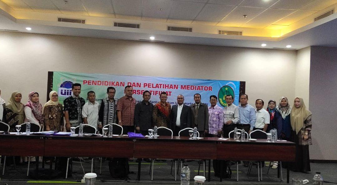 UIN Jakarta Berikan Pendidikan dan Pelatihan Mediator Bersertifikat Bagi Sivitas Akademika