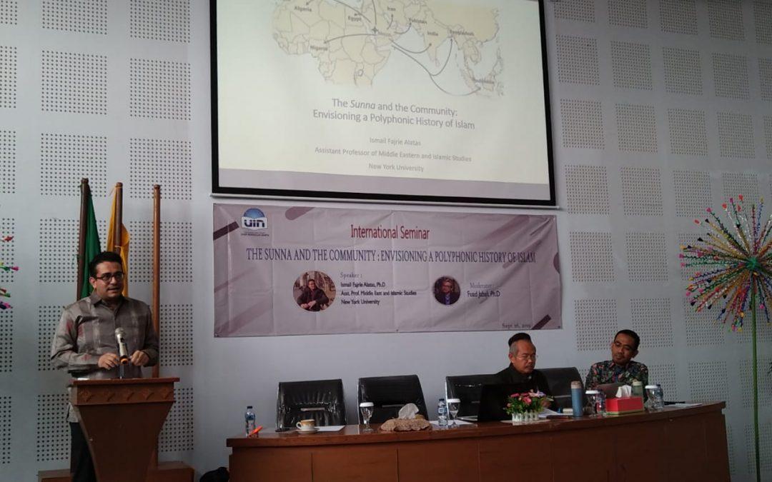 FAH UIN Jakarta holds international seminar on sunna and community