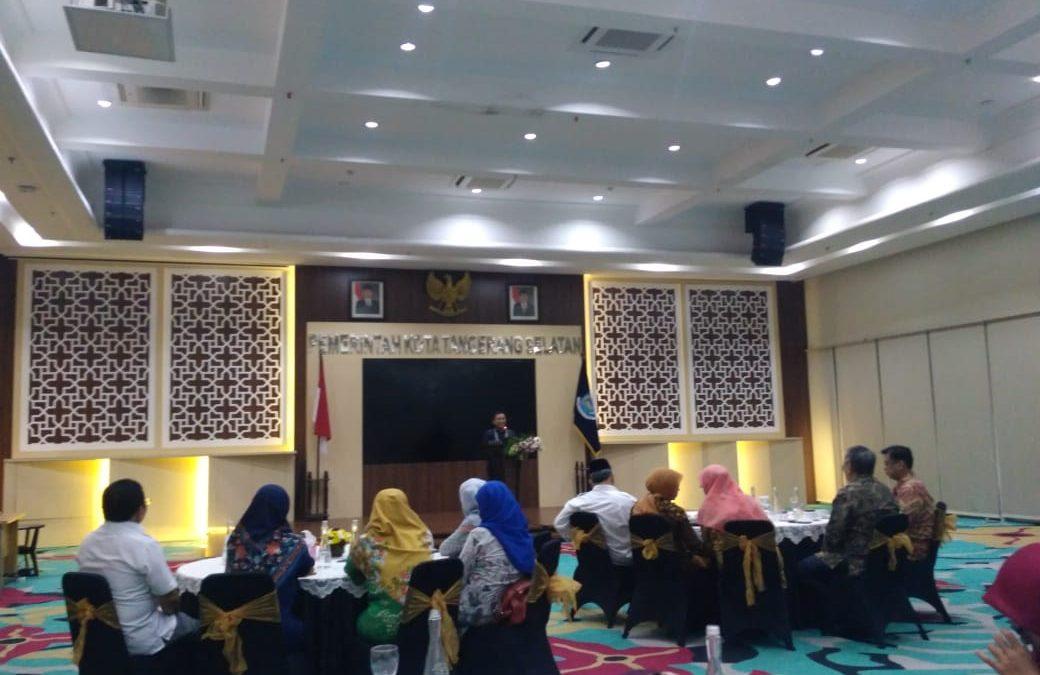 PSGA UIN Jakarta Gelar Ramah Tamah di Kantor Wali Kota Tangerang Selatan