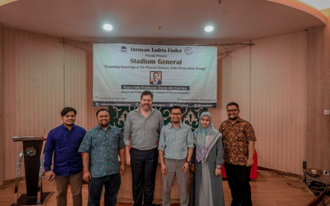 Physics Education Department holds Studium Generale with Foreign Lecturer from the UNSW