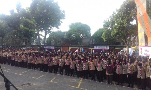 Gerakan Pramuka UIN Jakarta Gelar Giat Prestasi Jawara Nasional II 2019