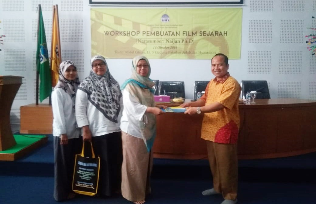 FAH UIN Jakarta holds historical filmmaking workshop