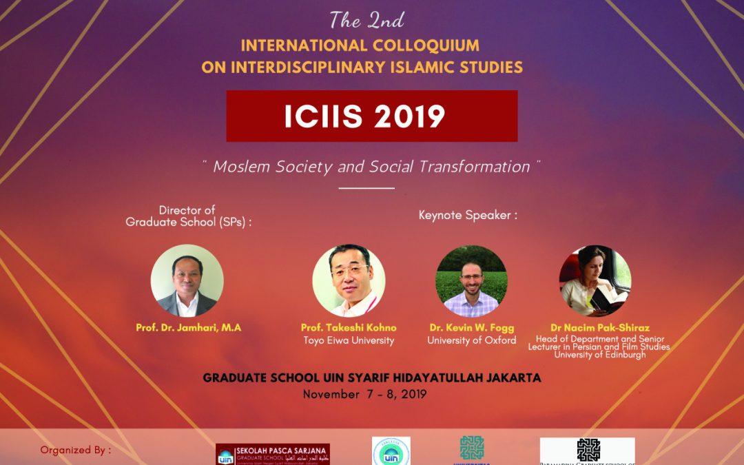SPs UIN Jakarta will organize the 2nd ICIIS