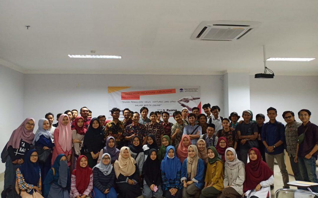 FAH Gelar Pendidikan Dasar Jurnalistik Mahasiswa