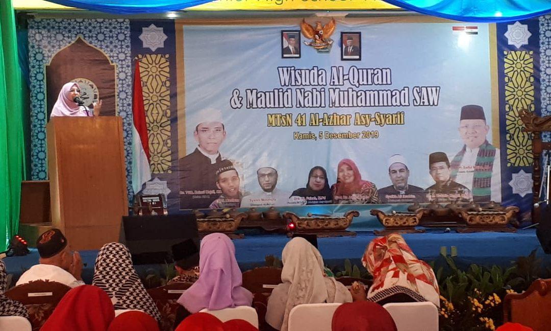 Rektor Motivasi Siswa-Santri Al-Azhar As-Syarif Indonesia
