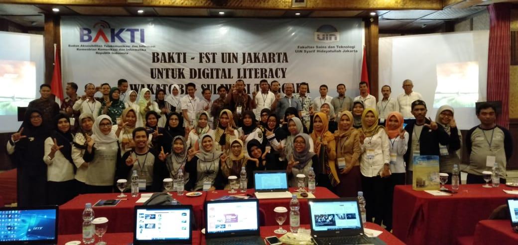 FST-BAKTI Kominfo Gelar Pelatihan Literasi Digital di Wakatobi