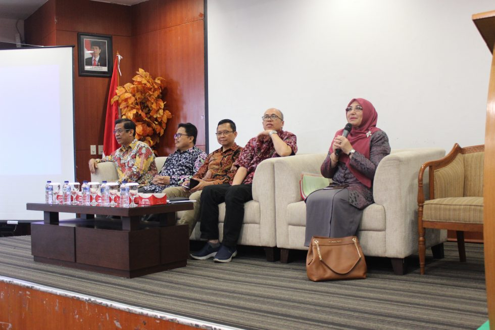Rector conducts a visit to FK and Fikes UIN Jakarta
