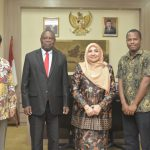 The Guinea-Bissau government wants to send its students and Imams to UIN Jakarta
