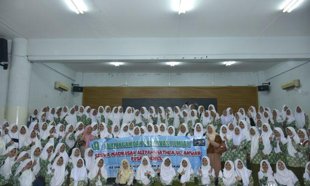 UIN Jakarta Terima Tamu MA Mathla'ul Anwar Pandeglang