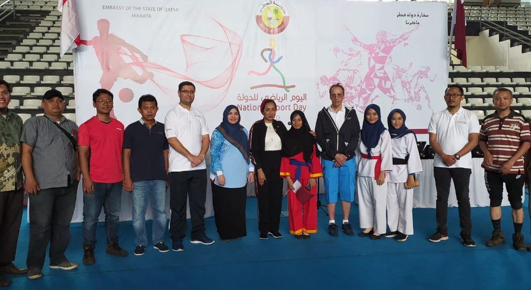 The Qatar National sports day, Qatari Ambassador appreciates the students of UIN Jakarta