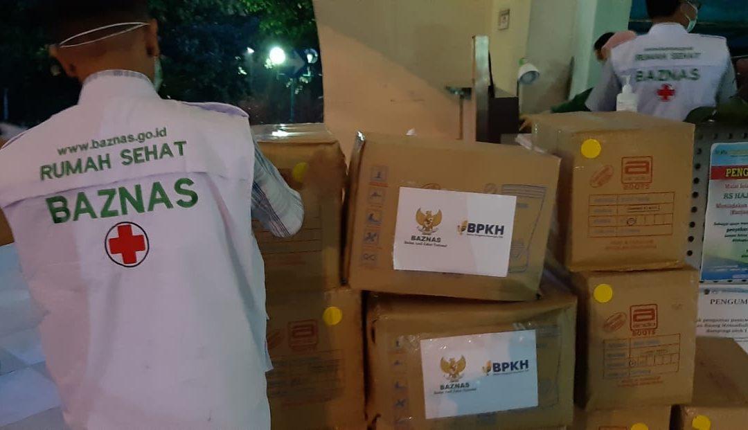 Tangani Covid-19, RS Syahid dan RS Haji Terima Bantuan APD dari Baznas