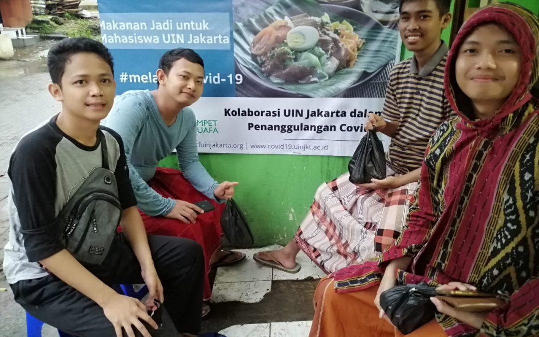 Darurat Covid 19, Bantuan STF UIN Jakarta Sasar Ratusan Mahasiswa