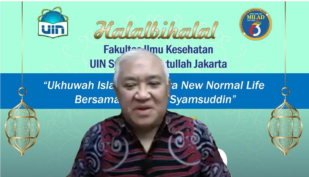 Din Syamsuddin: Jalani The New Normal Life dengan Perbaikan (2)