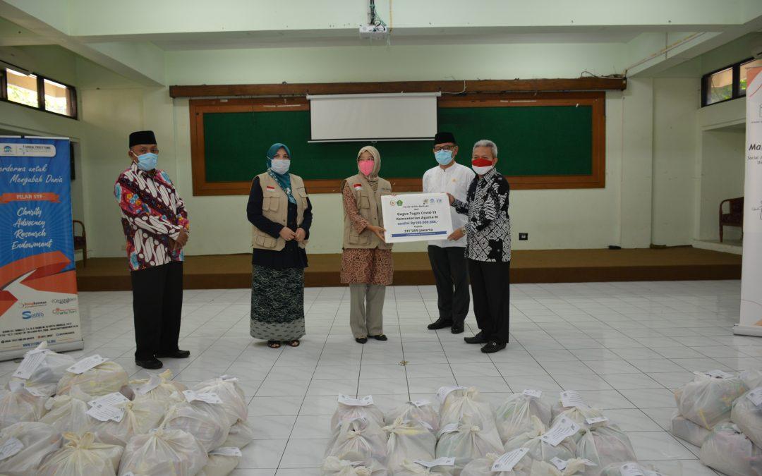 Kemenag Salurkan Bantuan bagi Mahasiswa UIN Jakarta