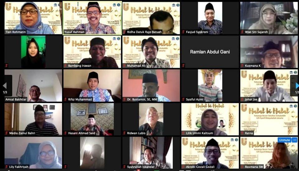 Halal Bihalal FU: Diskusikan Teologi Wabah hingga Gulirkan FU Scholarship