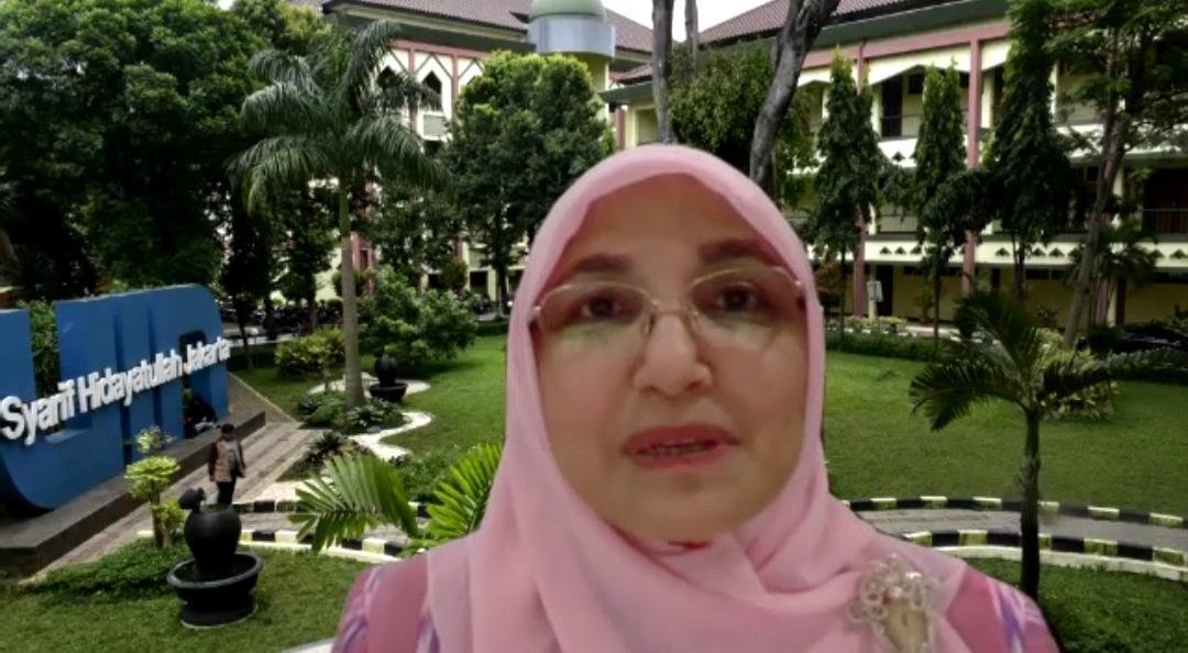 Darurat Pandemi, Rektor UIN Jakarta Ajak Perempuan Perkuat Empati Sosial
