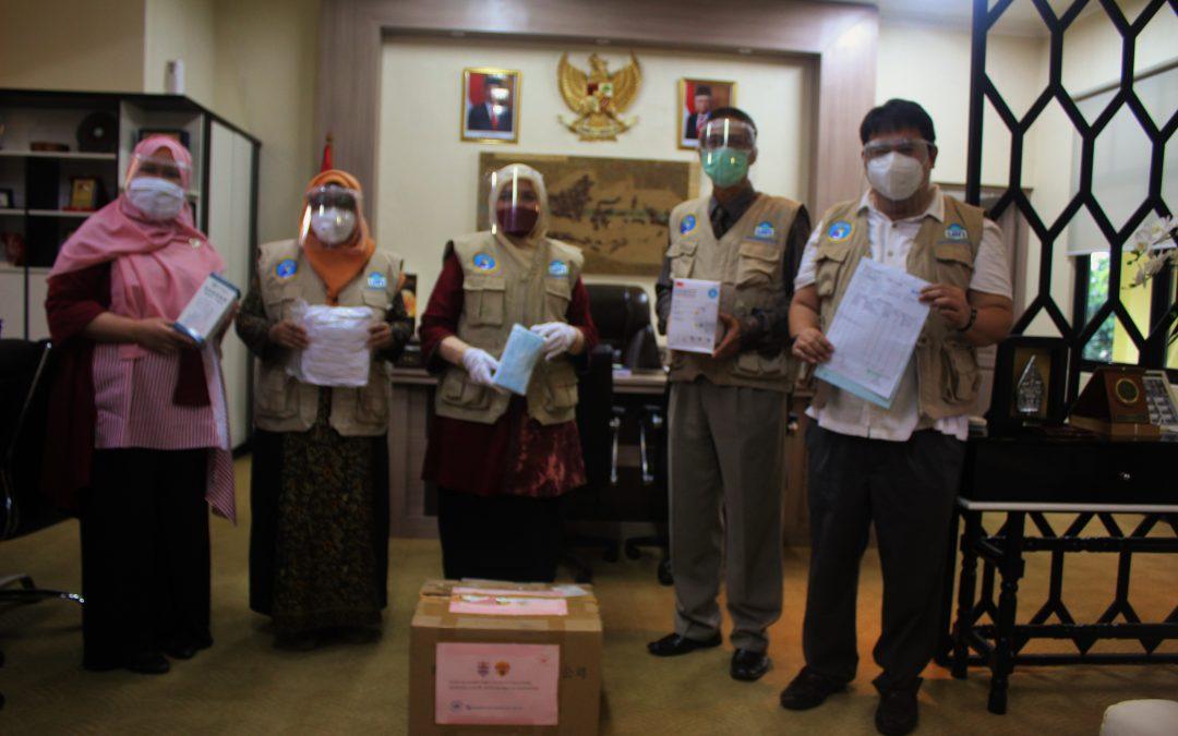 UIN Jakarta Serahterimakan Bantuan APD BNPB
