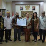 UIN Jakarta-Unpam Teken Kerja Sama Penguatan Kapasitas Kelembagaan dan Tridharma PT