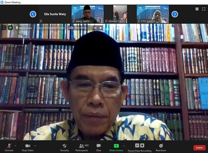 Prodi PBA UIN Jakarta Sukses Gelar Dua Acara Berskala Nasional