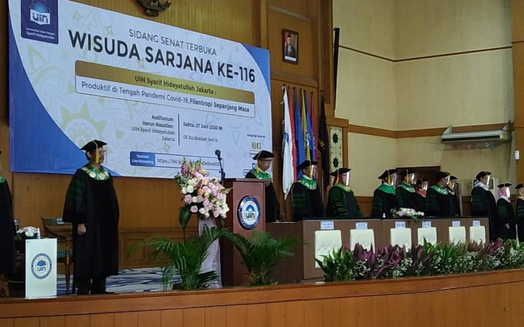 UIN Jakarta holds virtual graduation ceremony