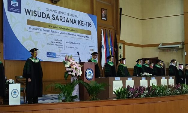 UIN Jakarta holds virtual graduation ceremony