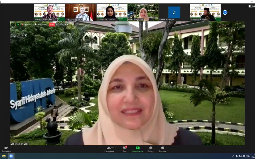 UIN Jakarta-Kedubes RI Mesir Luncurkan Layanan Konseling Mahasiswa Indonesia di Mesir