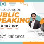Tingkatkan Kemampuan Komunikasi, DEMA FIKES Gelar Pelatihan Public Speaking