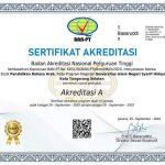 Awarded with an 'A' grade accreditation status, FITK UIN Jakarta holds tasyakuran