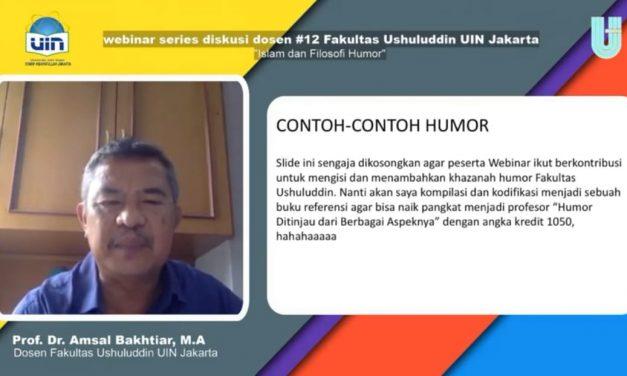 FU UIN Jakarta held webinar on Islam and the philosophy of humor
