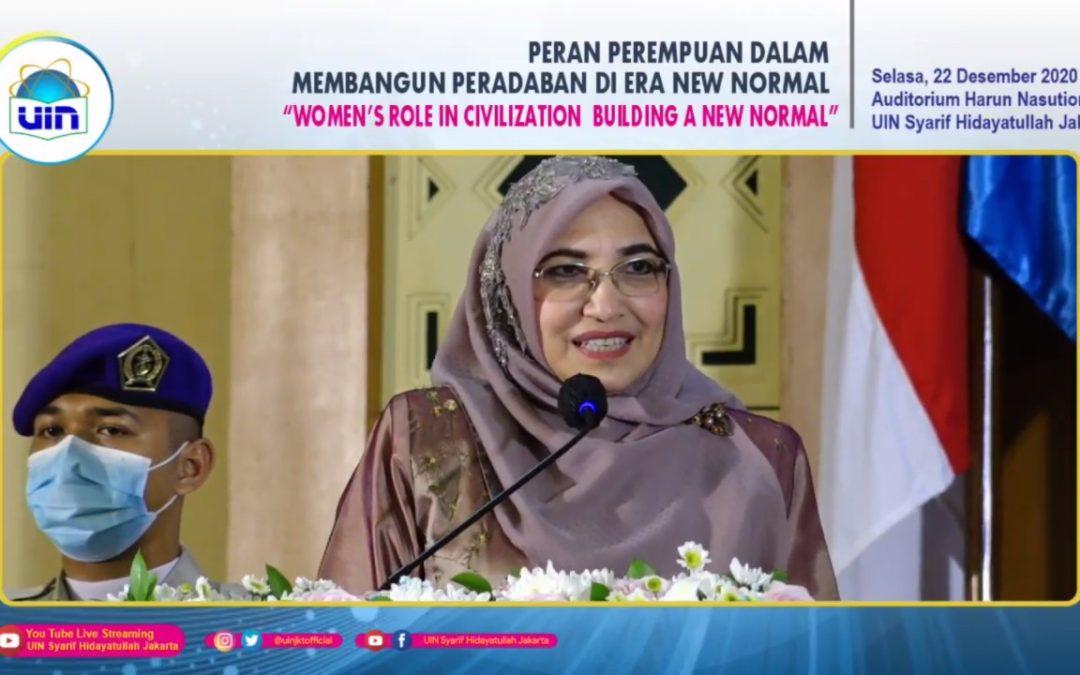 UIN Jakarta holds international webinar on the women's role in civilization