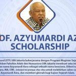 STF UIN Jakarta offers Azyumardi Azra Scholarship