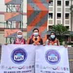 Tiga Relawan UIN Jakarta Menuju Lokasi Bencana Kalsel dan Sulbar
