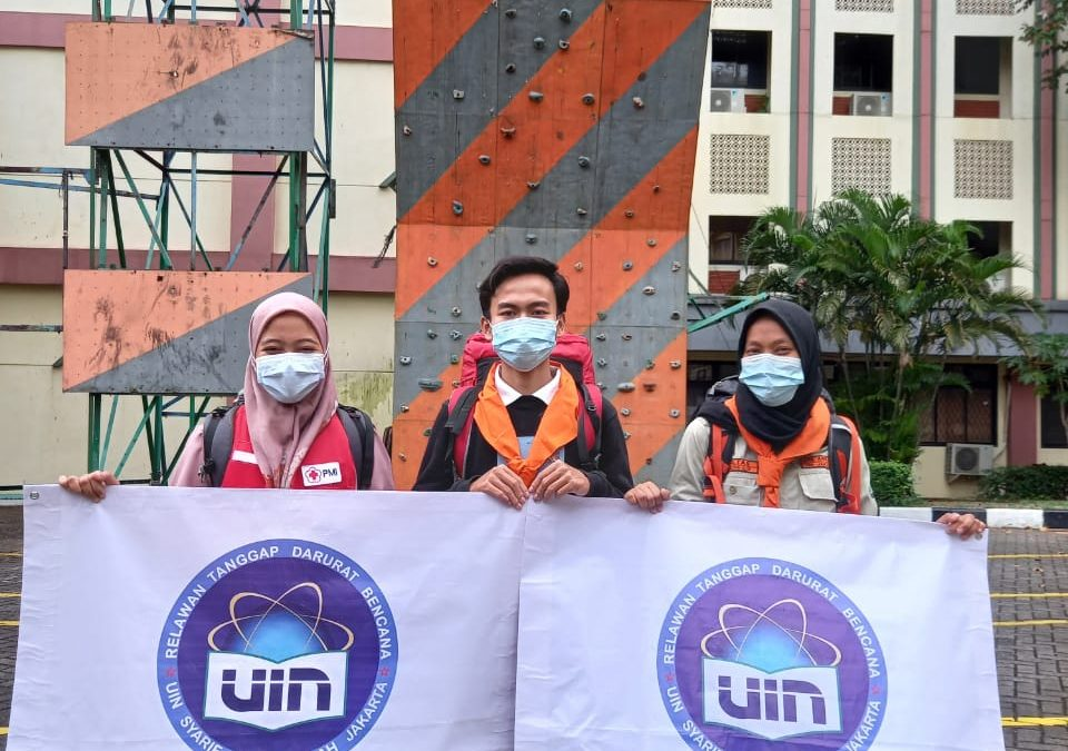 Three Volunteers from UIN Jakarta Heading for Disaster Sites in South Kalimantan and West Sulawesi