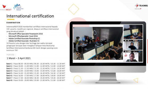 10 Mahasiswa Terima Sertifikat Internasional Microsoft Office