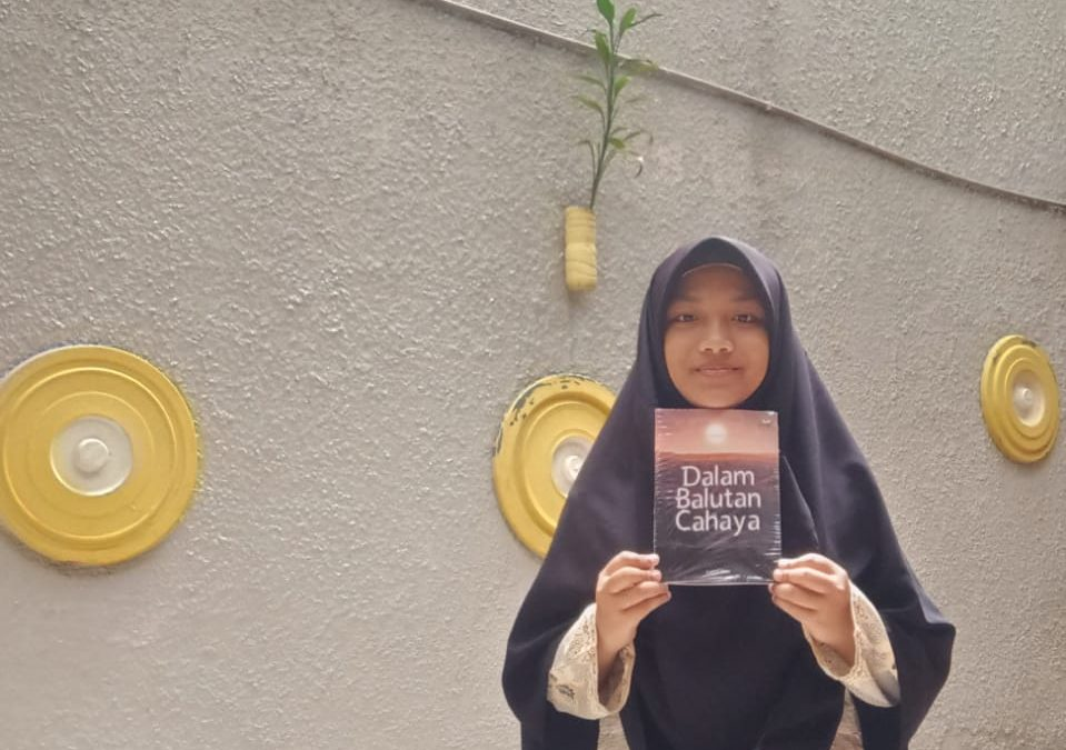 Starting from a hobby, this student has published several books