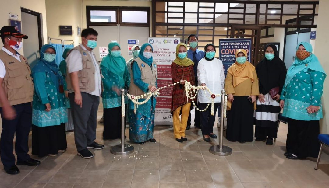 The Integrated Lab of FK UIN Jakarta is recognized by WHO as the best PCR laboratory network