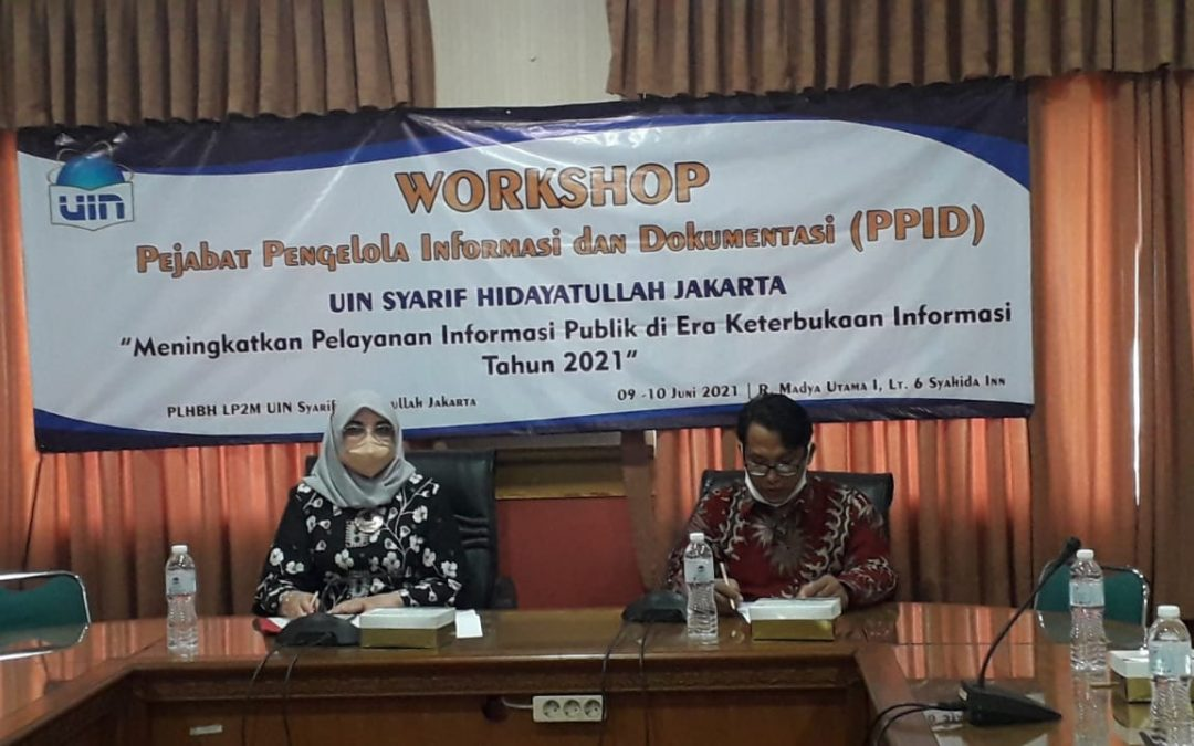 UIN Jakarta holds workshop on public information openess
