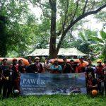 """Ranita Gelar Pelatihan """"Water Rescue"""" di Situ Gintung"""