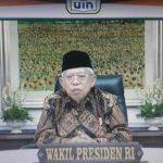 نائب الرئيس معروف أمين يوجه دعوة إلى الجامعة  في التزام الاعتدال الديني