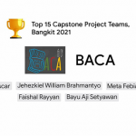 Two student teams of FST UIN Jakarta occupy the Top 15 of the Bangkit Program