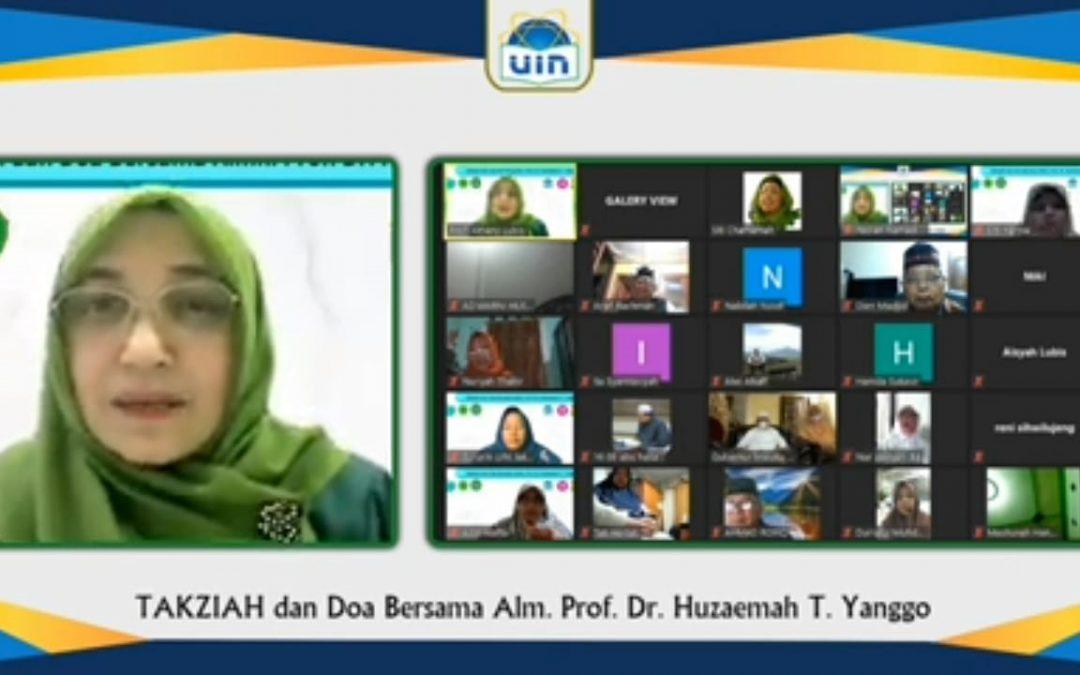 UIN Jakarta dan Organisasi Ulama Wanita Doakan Kepergian Huzaemah T. Yanggo