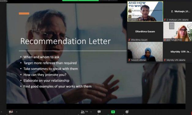 CIC UIN Jakarta Holds Scholarship Information Session