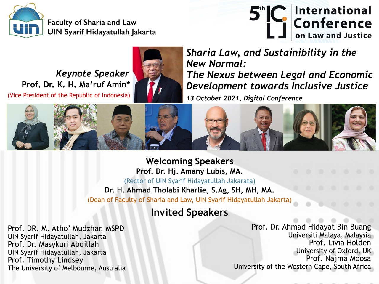 FSH UIN Jakarta holds the 5th ICLJ