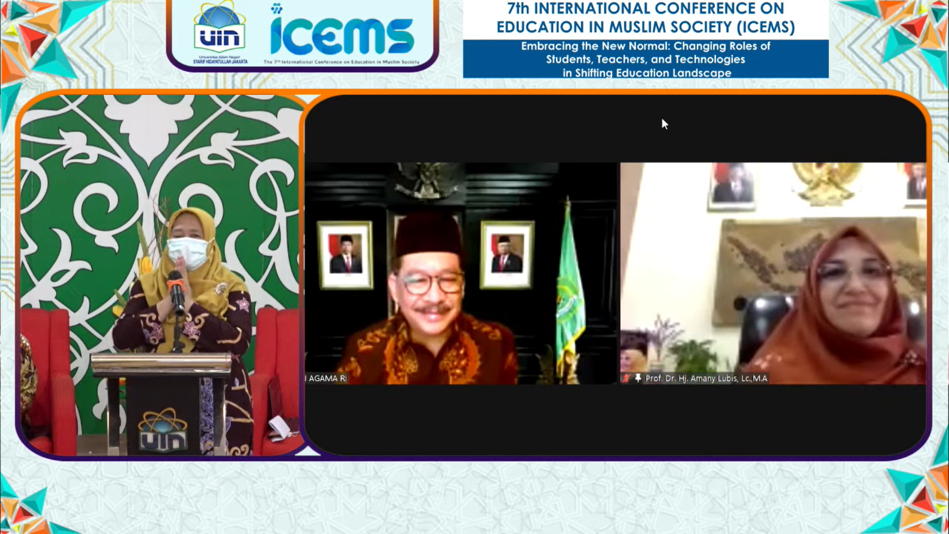 FITK UIN Jakarta holds the 7th International Conference on Education in Muslim Society (ICEMS)